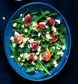 Spring Rocket & Fig Salad