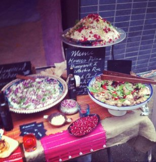 Collaboration with Arganic at Maltby Street Market
