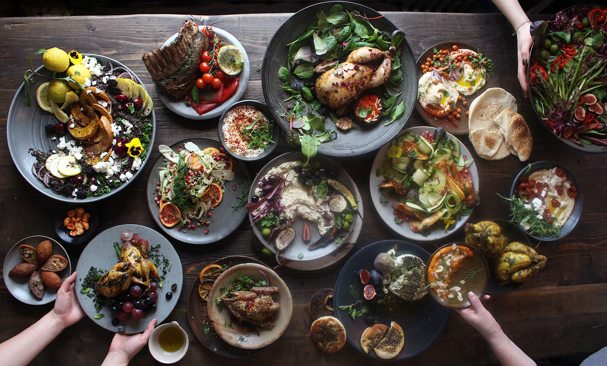Sharing Platter Mezze  Buffet, Feast & banquet by The Hampstead Kitchen
